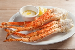 Plate of Snow Crab Legs